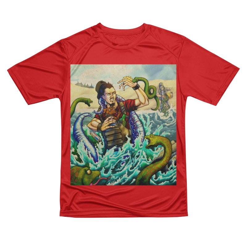 Snakes from a Fain Men's Performance T-Shirt by Poisoning the Well Swag Shop
