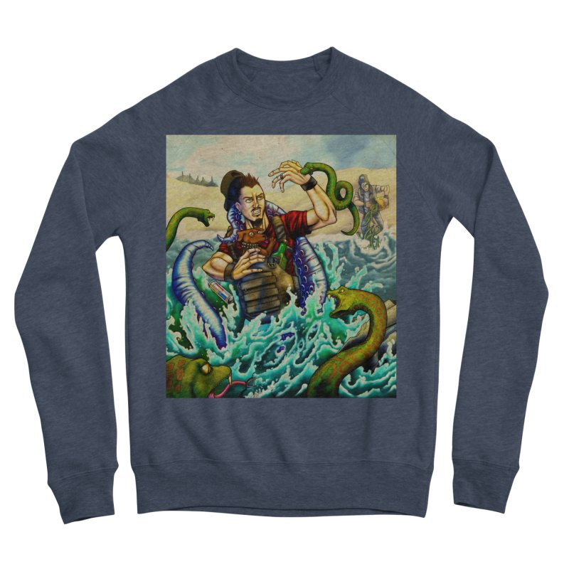 Snakes from a Fain Men's Sponge Fleece Sweatshirt by Poisoning the Well Swag Shop
