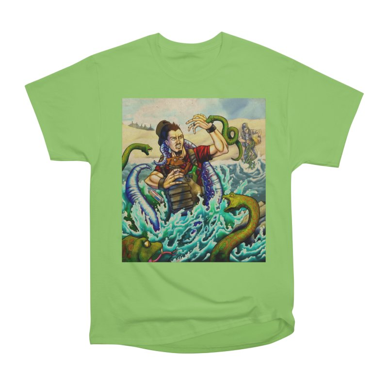 Snakes from a Fain Men's Heavyweight T-Shirt by Poisoning the Well Swag Shop