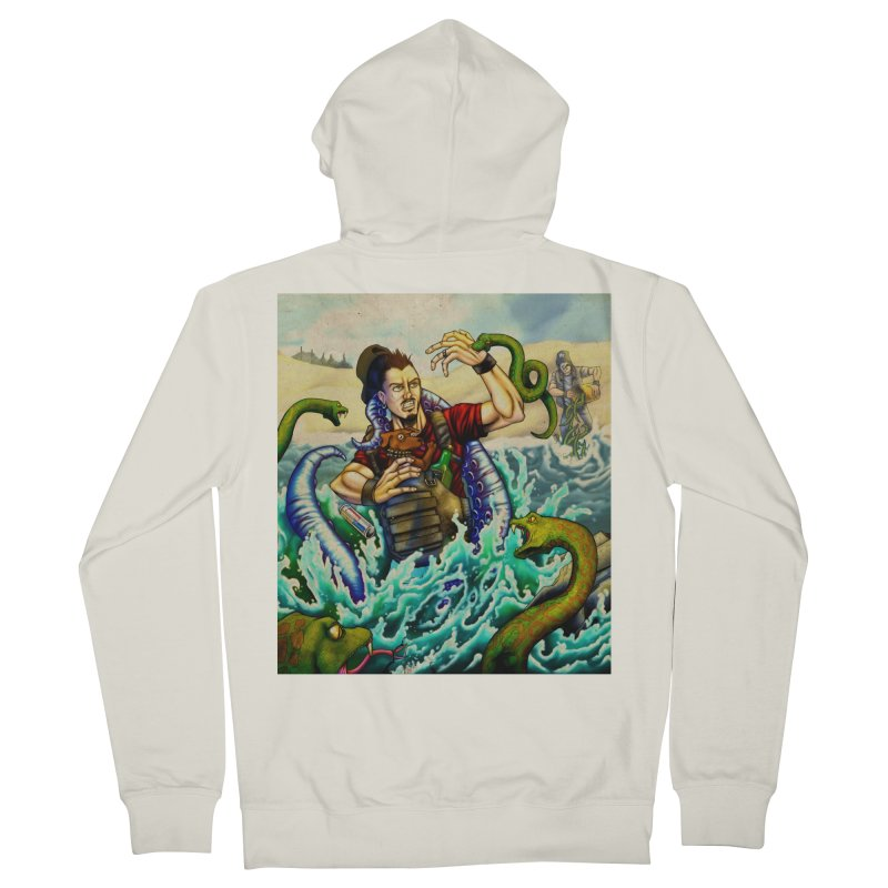 Snakes from a Fain Women's French Terry Zip-Up Hoody by Poisoning the Well Swag Shop
