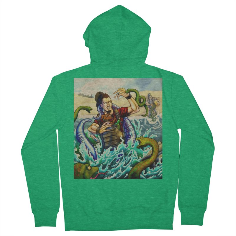 Snakes from a Fain Men's French Terry Zip-Up Hoody by Poisoning the Well Swag Shop