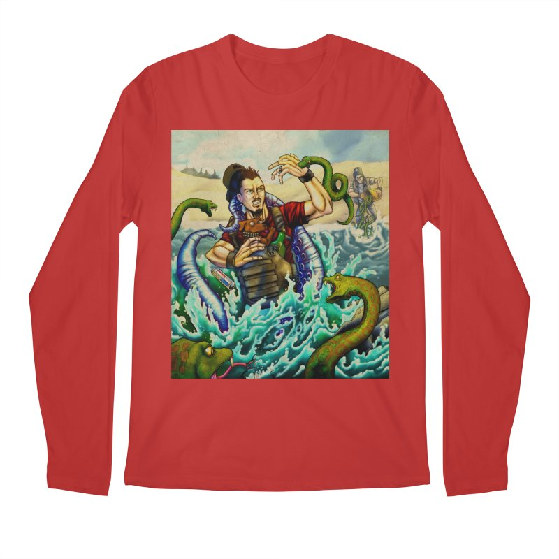 Snakes from a Fain Men's Regular Longsleeve T-Shirt by Poisoning the Well Swag Shop