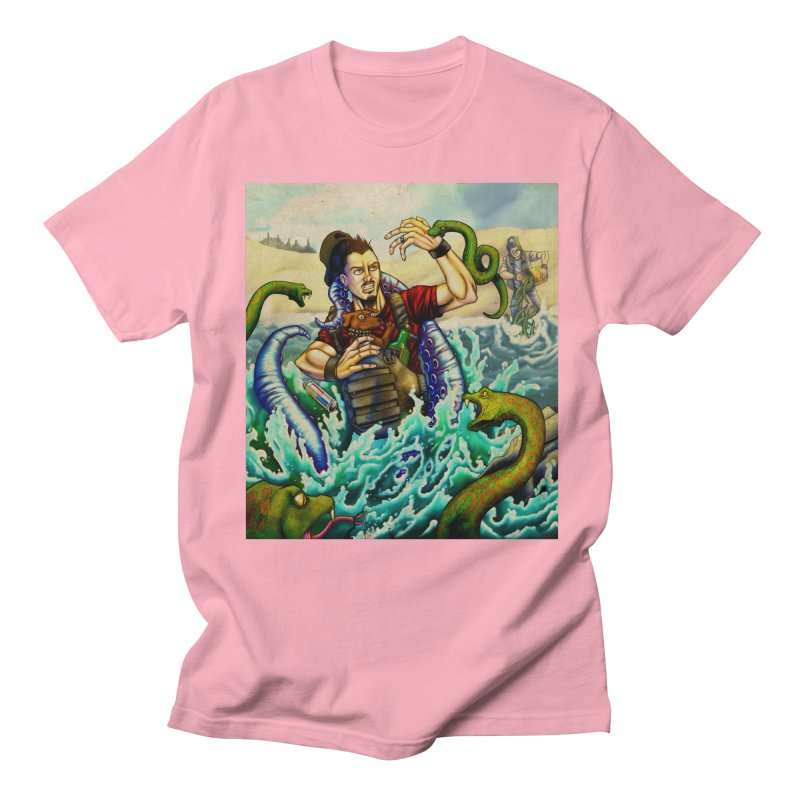 Snakes from a Fain Men's Regular T-Shirt by Poisoning the Well Swag Shop