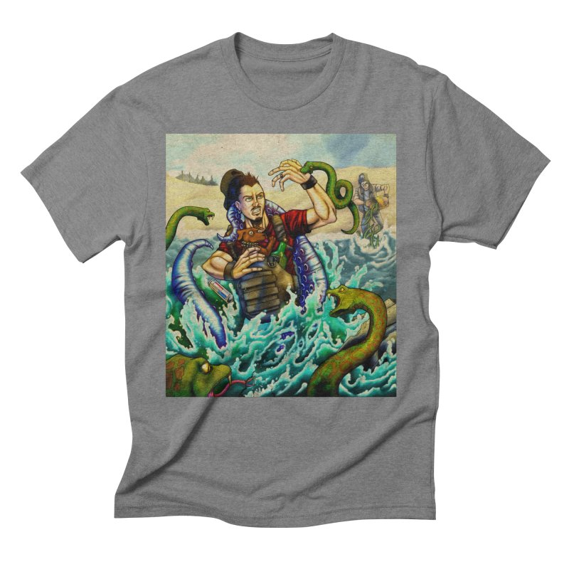 Snakes from a Fain Men's Triblend T-Shirt by Poisoning the Well Swag Shop