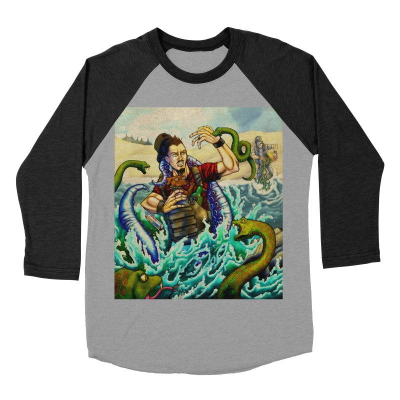 Snakes from a Fain Men's Baseball Triblend Longsleeve T-Shirt by Poisoning the Well Swag Shop
