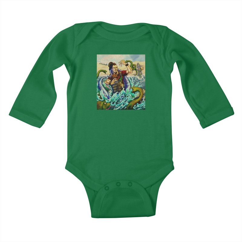 Snakes from a Fain Kids Baby Longsleeve Bodysuit by Poisoning the Well Swag Shop