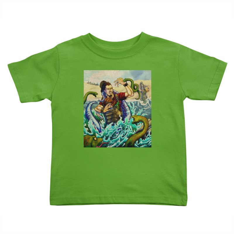 Snakes from a Fain Kids Toddler T-Shirt by Poisoning the Well Swag Shop