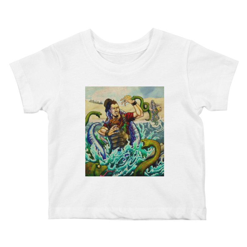 Snakes from a Fain Kids Baby T-Shirt by Poisoning the Well Swag Shop