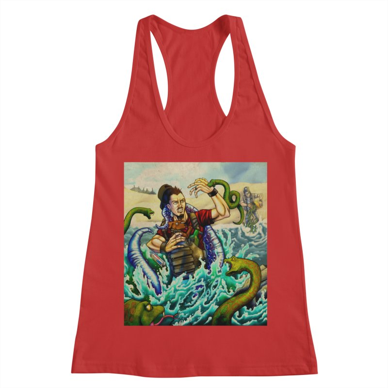 Snakes from a Fain Women's Racerback Tank by Poisoning the Well Swag Shop