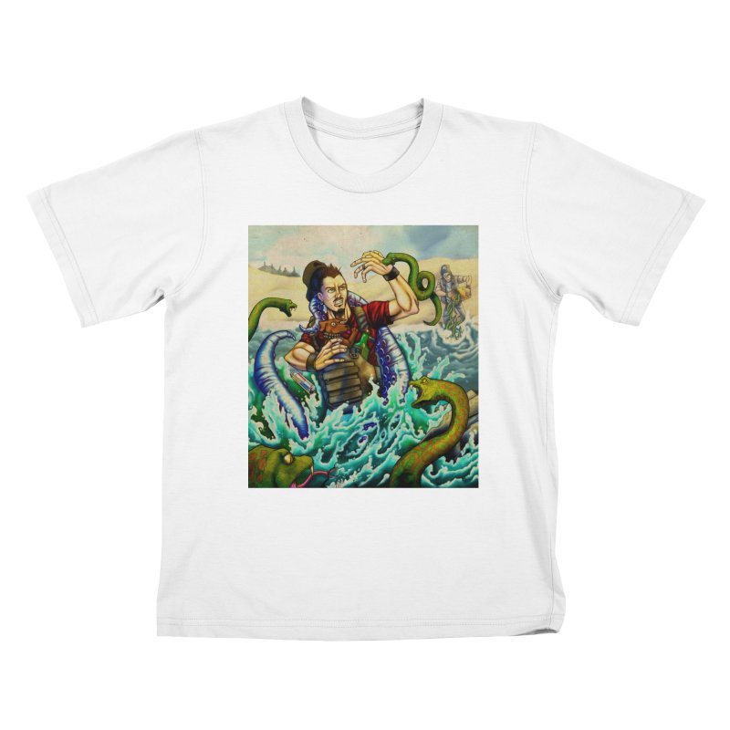 Snakes from a Fain Kids T-Shirt by Poisoning the Well Swag Shop