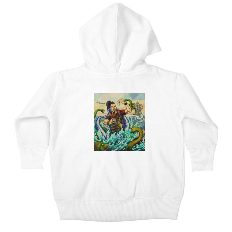 Snakes from a Fain Kids Baby Zip-Up Hoody by Poisoning the Well Swag Shop