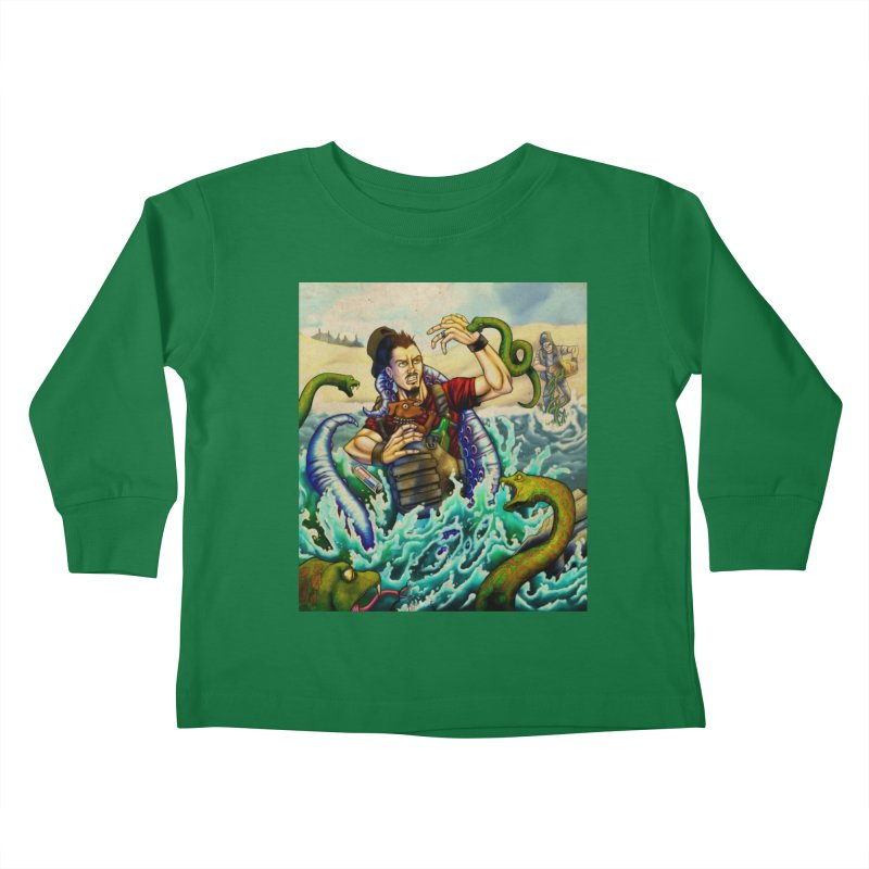 Snakes from a Fain Kids Toddler Longsleeve T-Shirt by Poisoning the Well Swag Shop