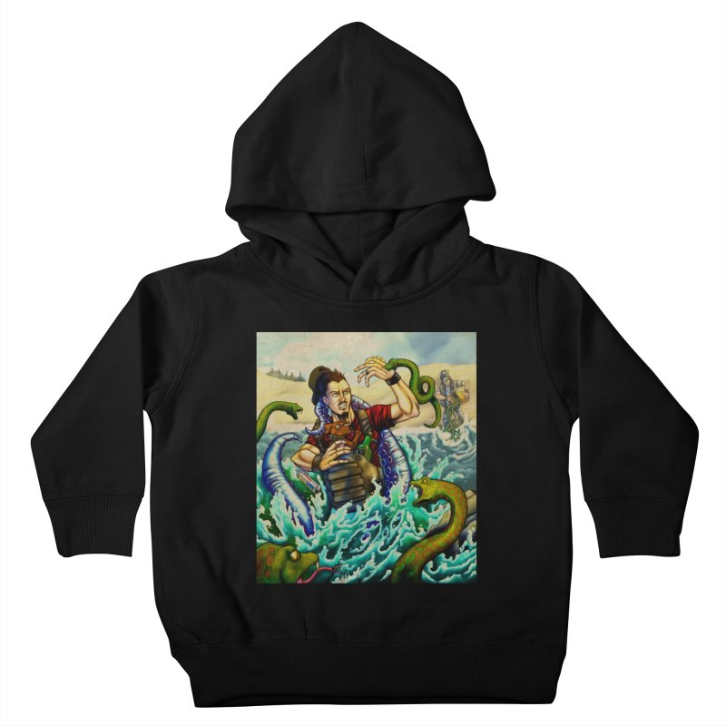 Snakes from a Fain Kids Toddler Pullover Hoody by Poisoning the Well Swag Shop