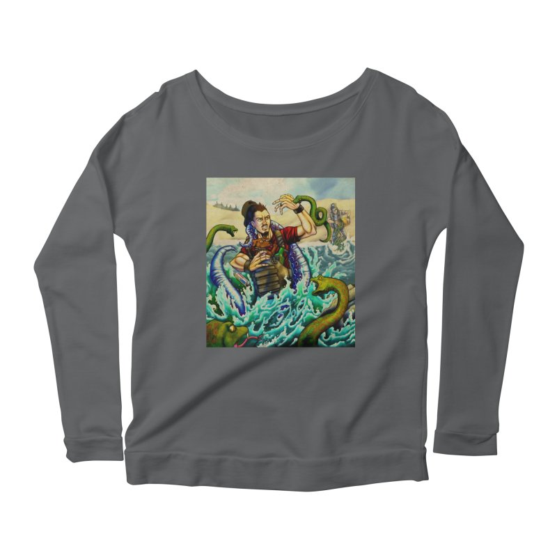Snakes from a Fain Women's Longsleeve T-Shirt by Poisoning the Well Swag Shop