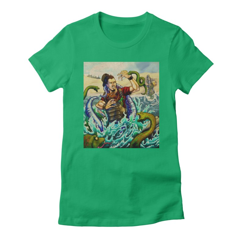 Snakes from a Fain Women's Fitted T-Shirt by Poisoning the Well Swag Shop