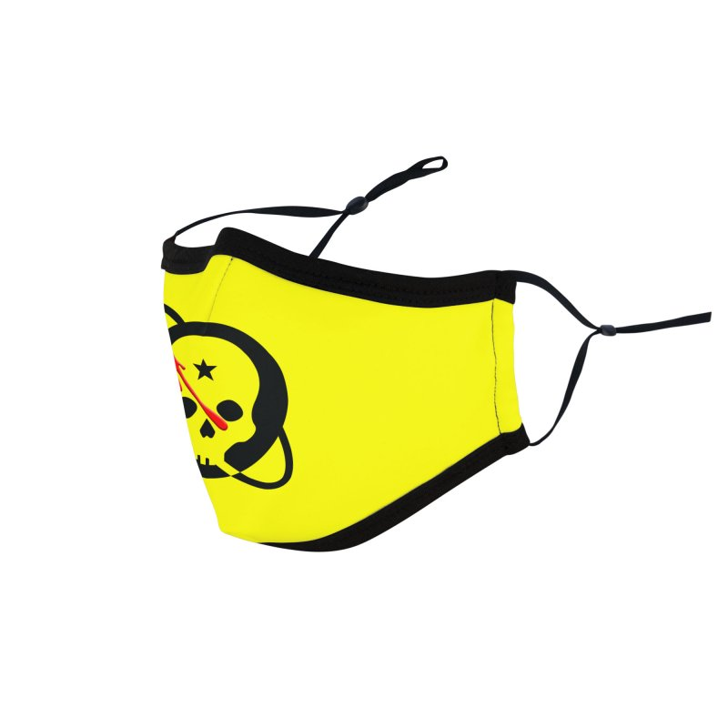Who Checks Out the Checkout Girl? Accessories Face Mask by Poisoning the Well Swag Shop
