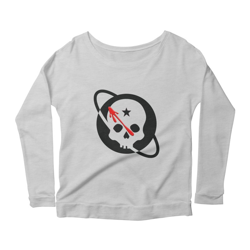 Who Checks Out the Checkout Girl? Women's Scoop Neck Longsleeve T-Shirt by Poisoning the Well Swag Shop
