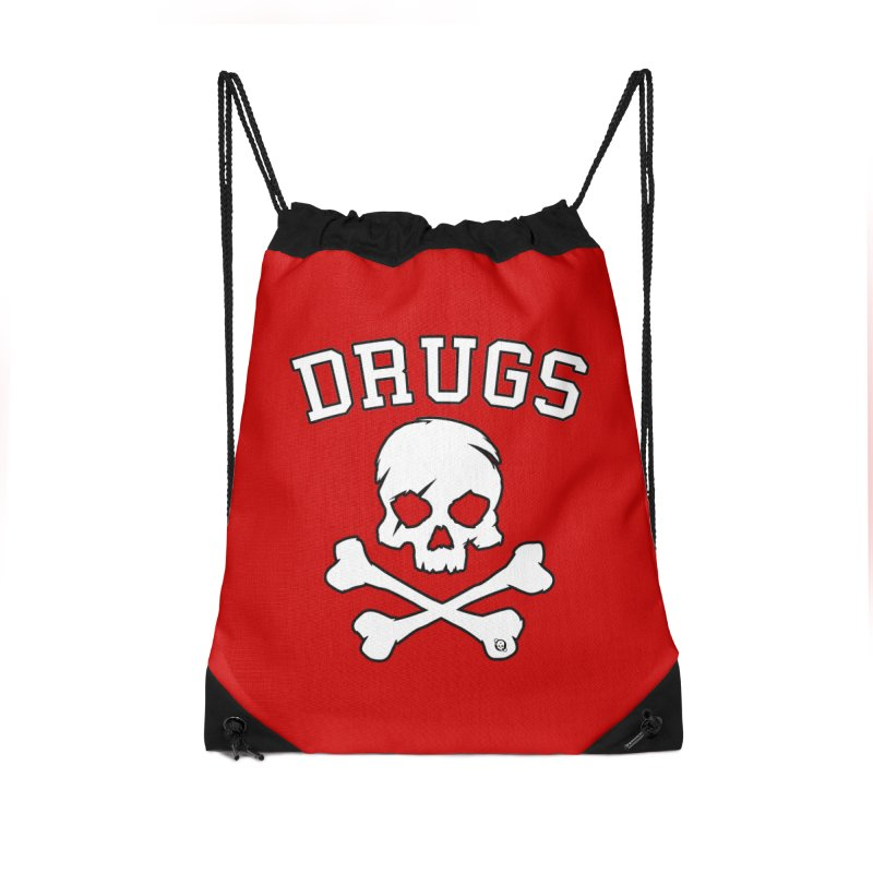 DRUGS Accessories Drawstring Bag Bag by Poisoning the Well Swag Shop