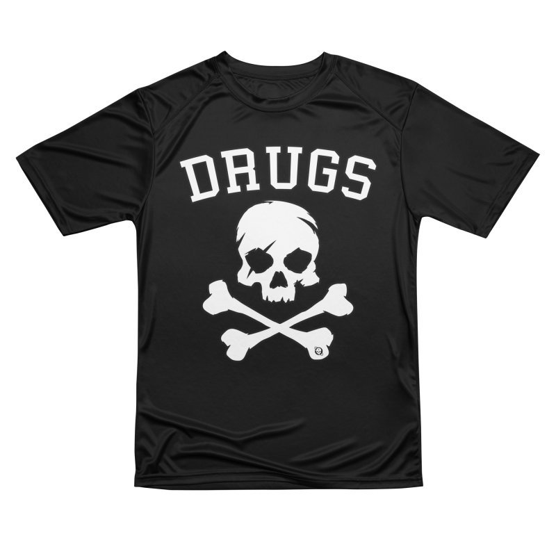 DRUGS Men's Performance T-Shirt by Poisoning the Well Swag Shop