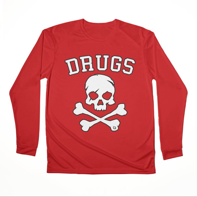 DRUGS Men's Performance Longsleeve T-Shirt by Poisoning the Well Swag Shop