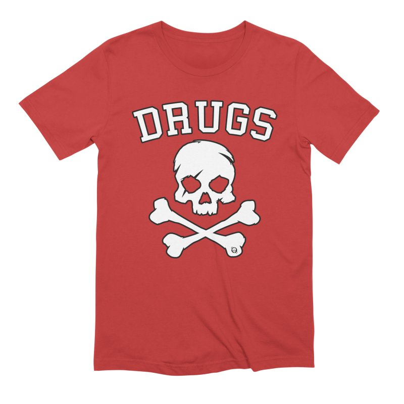 DRUGS Men's Extra Soft T-Shirt by Poisoning the Well Swag Shop