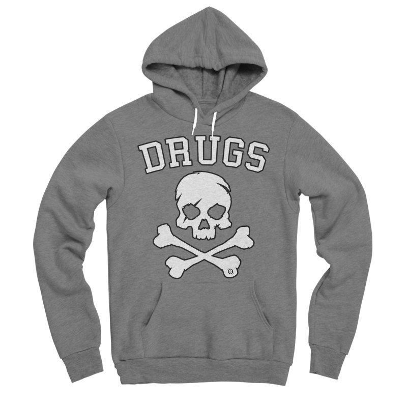 DRUGS Men's Sponge Fleece Pullover Hoody by Poisoning the Well Swag Shop