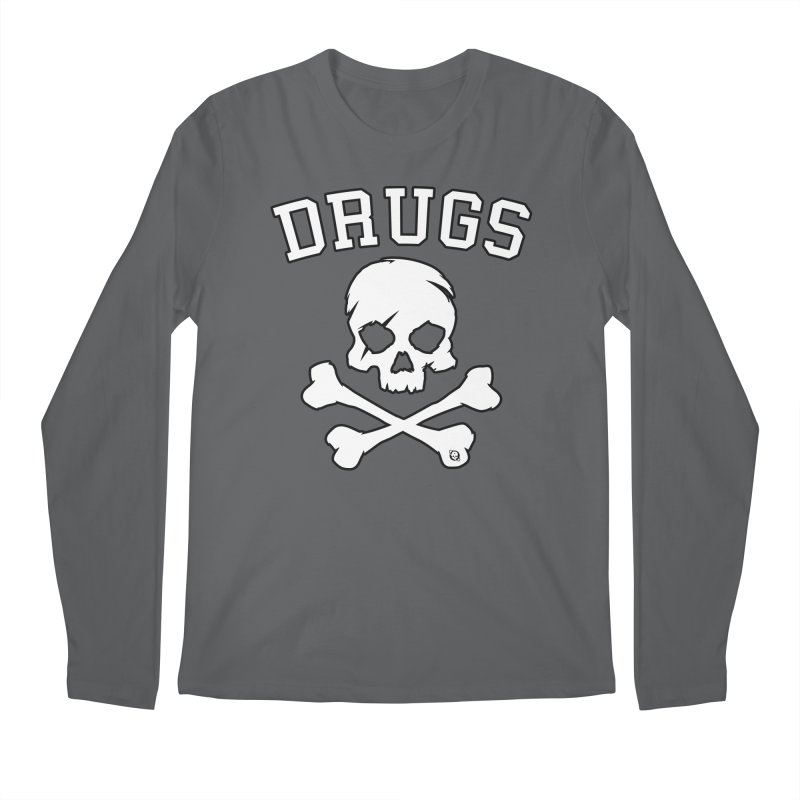DRUGS Men's Longsleeve T-Shirt by Poisoning the Well Swag Shop