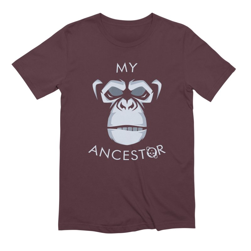 My Ancestor Men's Extra Soft T-Shirt by Poisoning the Well Swag Shop