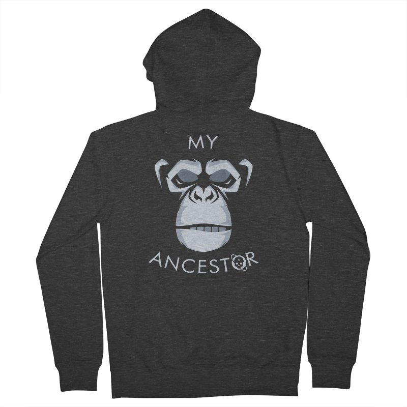 My Ancestor Women's French Terry Zip-Up Hoody by Poisoning the Well Swag Shop