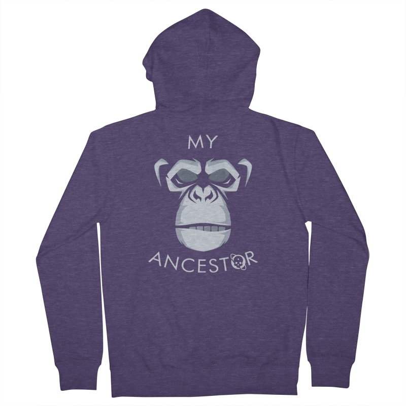 My Ancestor Men's French Terry Zip-Up Hoody by Poisoning the Well Swag Shop