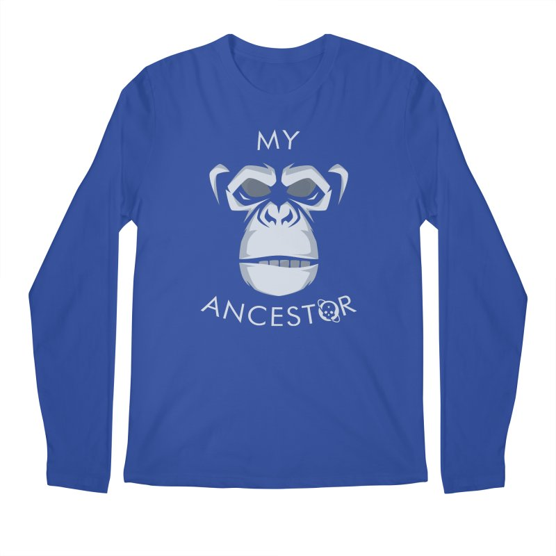 My Ancestor Men's Regular Longsleeve T-Shirt by Poisoning the Well Swag Shop