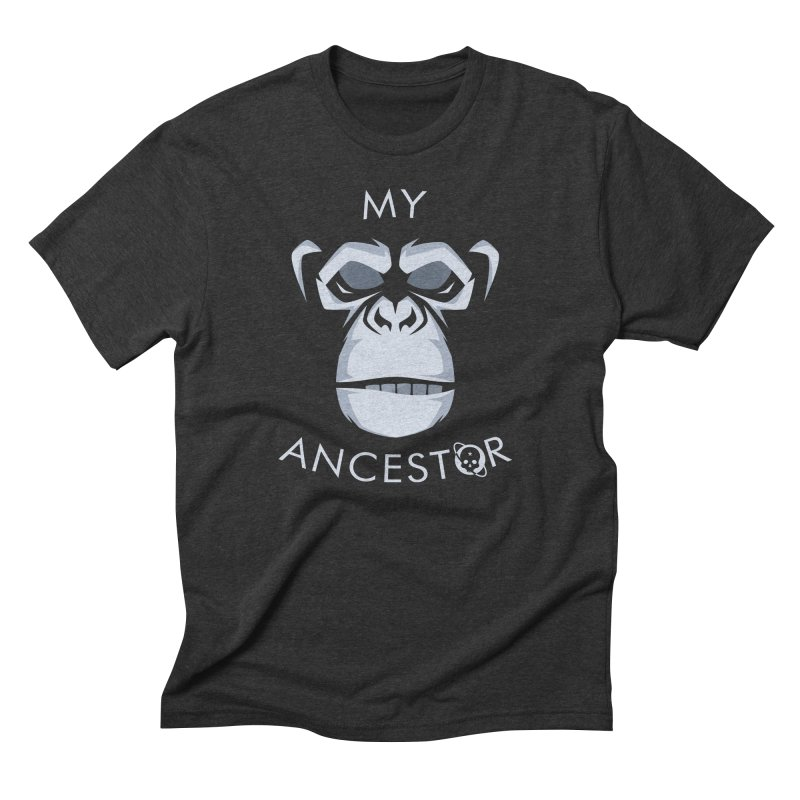 My Ancestor Men's Triblend T-Shirt by Poisoning the Well Swag Shop