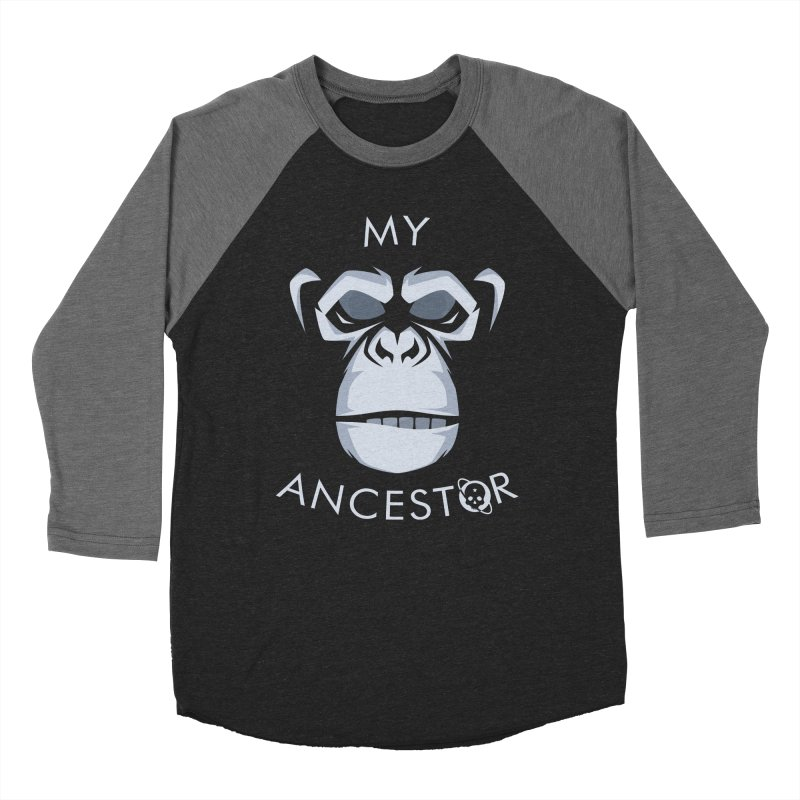 My Ancestor Men's Baseball Triblend Longsleeve T-Shirt by Poisoning the Well Swag Shop