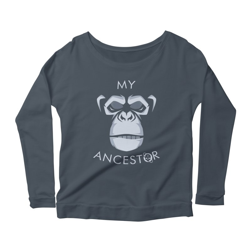 My Ancestor Women's Scoop Neck Longsleeve T-Shirt by Poisoning the Well Swag Shop
