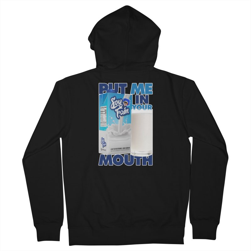Soy Fain - Put Me in Your Mouth Women's French Terry Zip-Up Hoody by Poisoning the Well Swag Shop