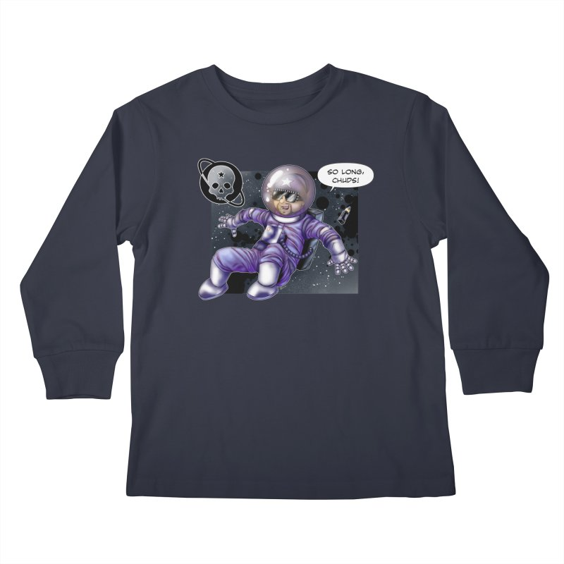 Space is the Place Kids Longsleeve T-Shirt by Poisoning the Well Swag Shop