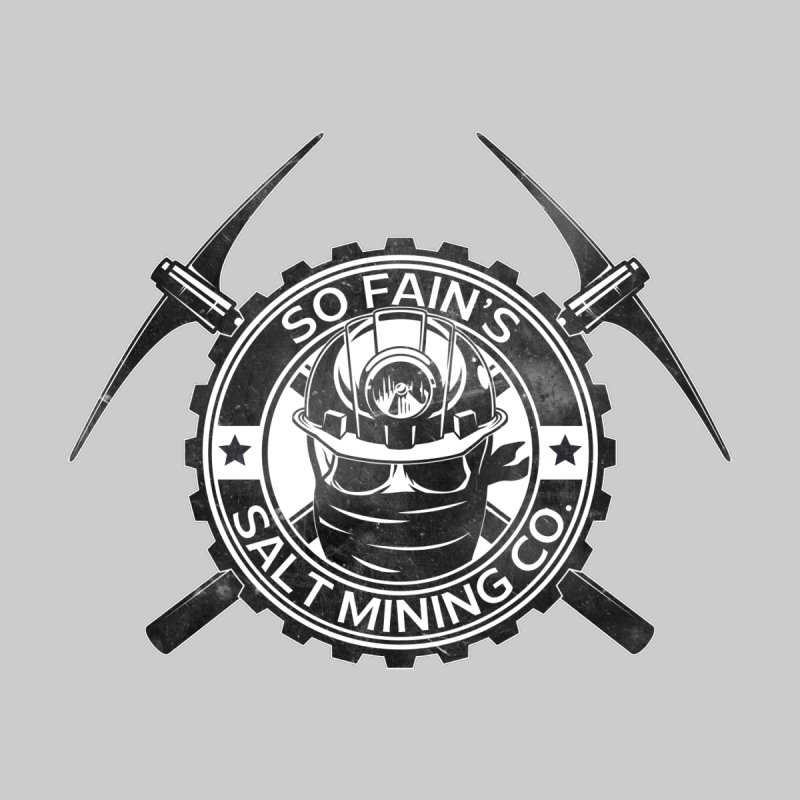 So Fain's Salt Mining Co. Kids T-Shirt by Poisoning the Well Swag Shop