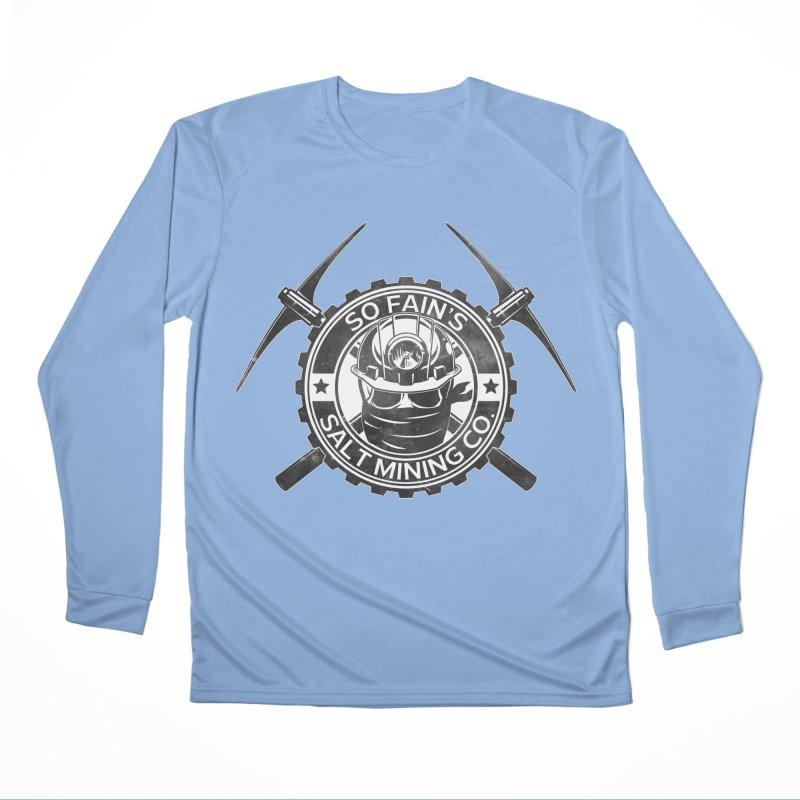 So Fain's Salt Mining Co. Men's Longsleeve T-Shirt by Poisoning the Well Swag Shop