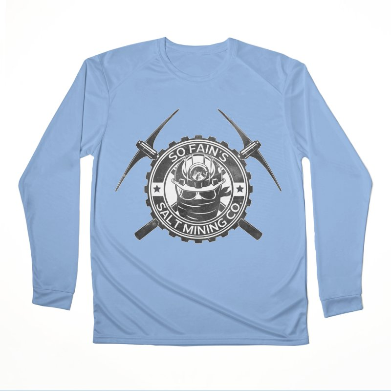 So Fain's Salt Mining Co. Women's Longsleeve T-Shirt by Poisoning the Well Swag Shop