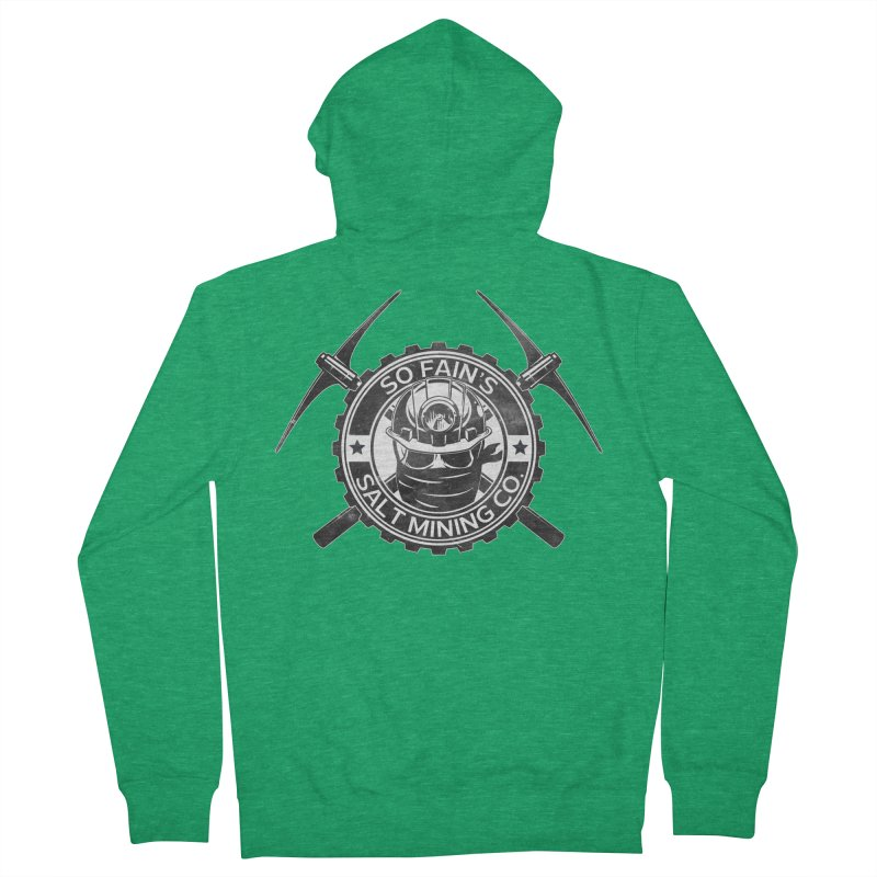 So Fain's Salt Mining Co. Women's Zip-Up Hoody by Poisoning the Well Swag Shop