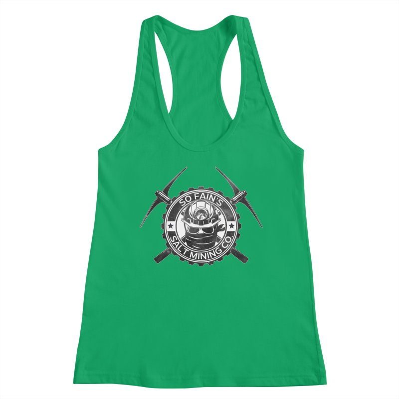 So Fain's Salt Mining Co. Women's Tank by Poisoning the Well Swag Shop