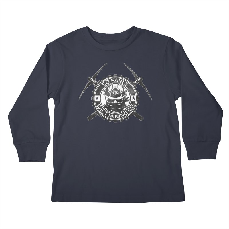So Fain's Salt Mining Co. Kids Longsleeve T-Shirt by Poisoning the Well Swag Shop