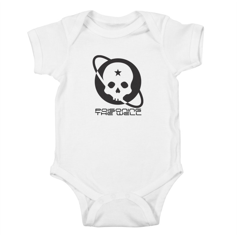 Black Poisoning The Well 2019 Logo Kids Baby Bodysuit by Poisoning the Well Swag Shop