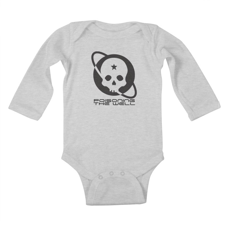 Black Poisoning The Well 2019 Logo Kids Baby Longsleeve Bodysuit by Poisoning the Well Swag Shop