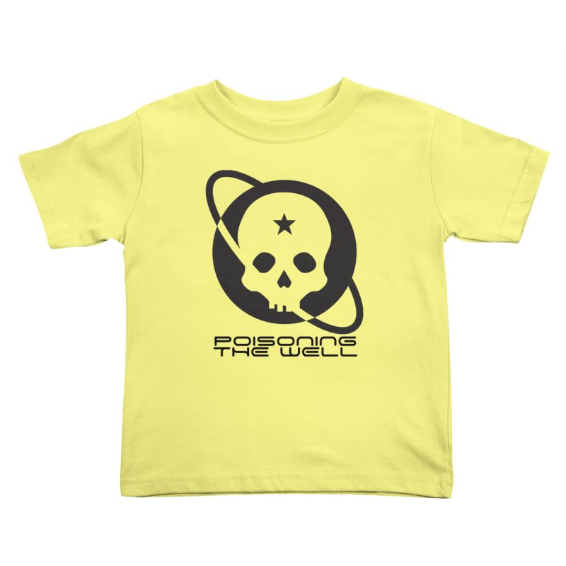 Black Poisoning The Well 2019 Logo Kids Toddler T-Shirt by Poisoning the Well Swag Shop