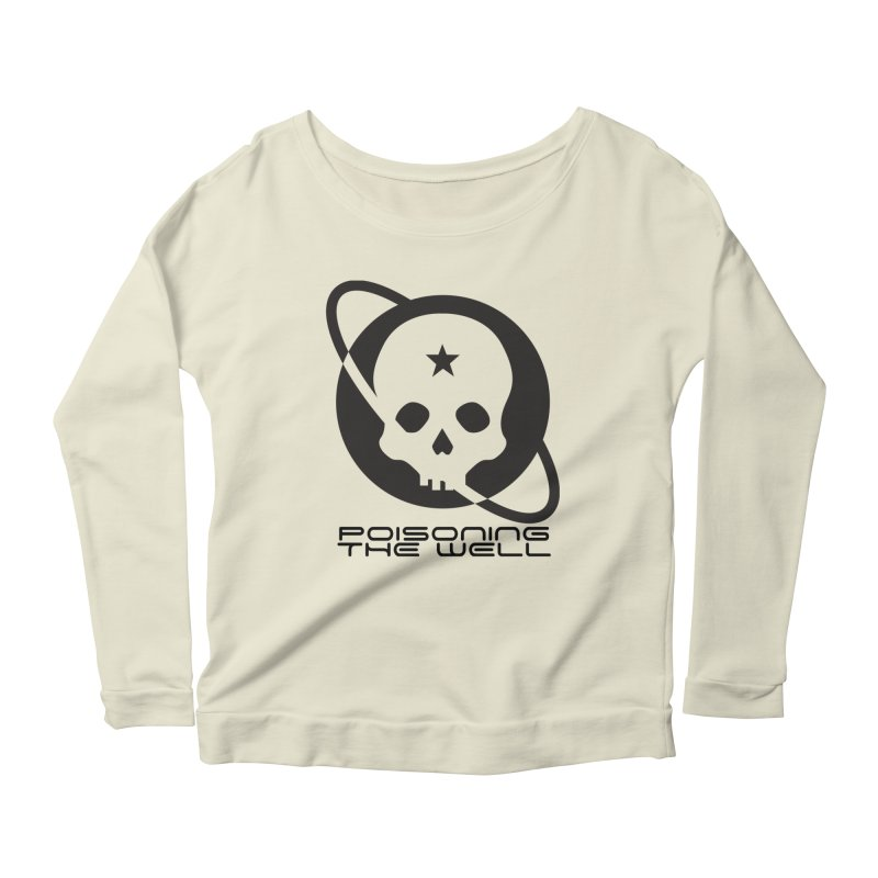 Black Poisoning The Well 2019 Logo Women's Scoop Neck Longsleeve T-Shirt by Poisoning the Well Swag Shop