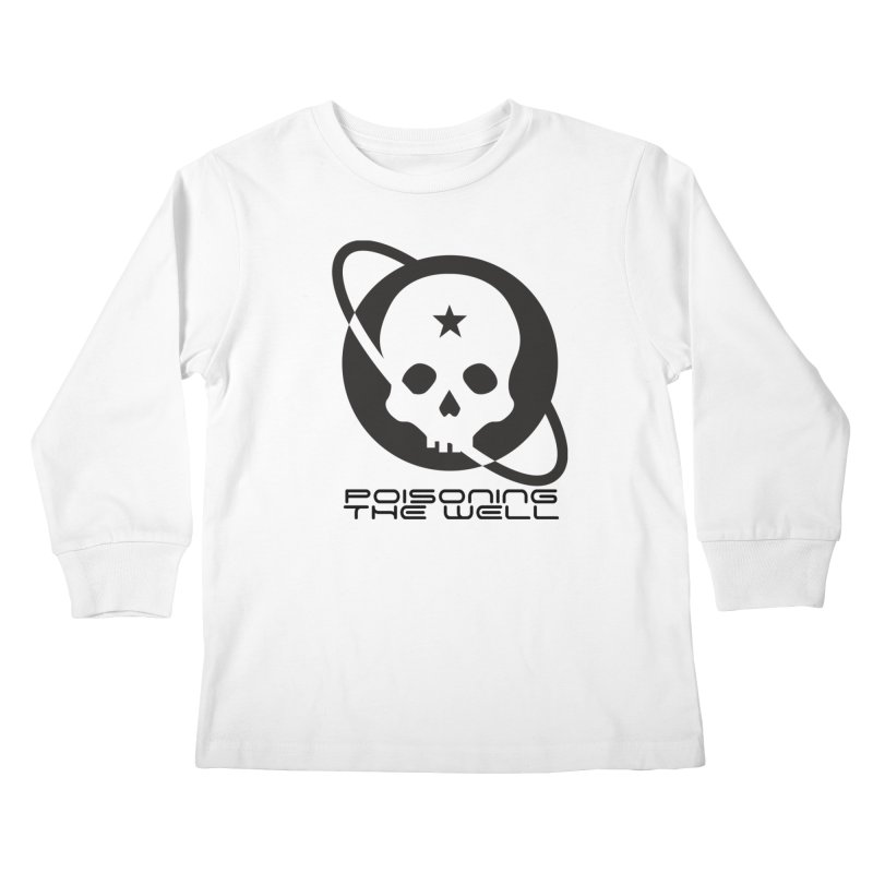 Black Poisoning The Well 2019 Logo Kids Longsleeve T-Shirt by Poisoning the Well Swag Shop