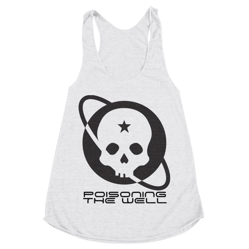 Current Year: A Space Odyssey Women's Racerback Triblend Tank by Poisoning the Well Swag Shop