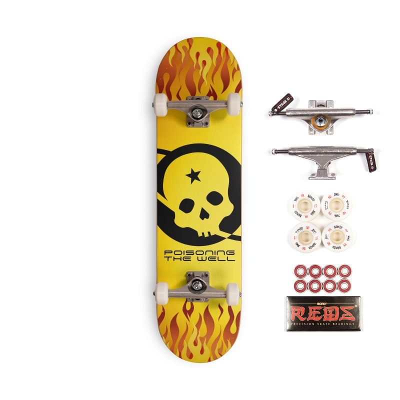 Current Year: A Space Odyssey Accessories Complete - Pro Skateboard by Poisoning the Well Swag Shop