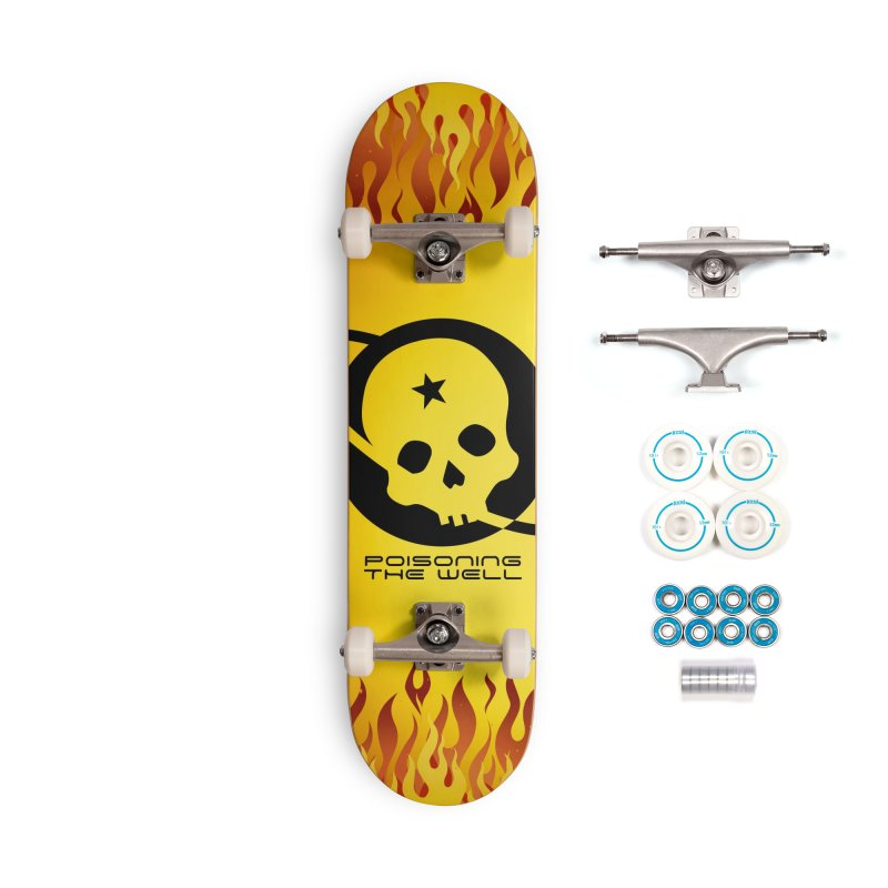 Current Year: A Space Odyssey Accessories Complete - Basic Skateboard by Poisoning the Well Swag Shop